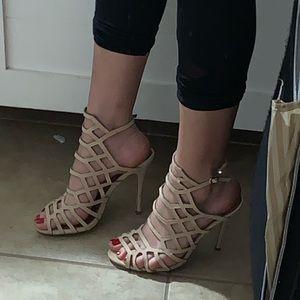 Honeycomb stiletto heels